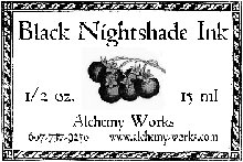 Black Nightshade Ink