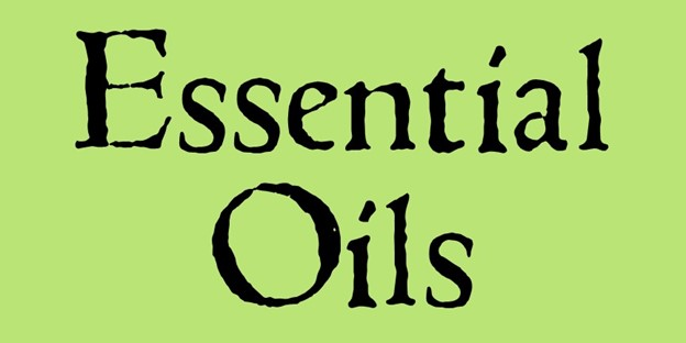 Go to essential oils