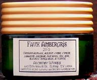 Faux ambergris